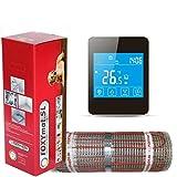 FOXYSHOP24-elektrische Fußbodenheizung PREMIUM MARKE FOXYMAT.SL RAPID (200 Watt pro m² ,für die...