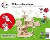 Mara by Marabu 046000005 - Baumhaus, 3D Puzzle, 37-Teile