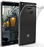 LONVIPI® Custodia Cover HUAWEI P9 LITE Clear Trasparente Ultra Sottile Silicone Gel Tpu Morbida Smartphone HUAWEI P9 LITE LONVIPI®