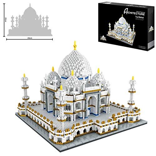 Taj Mahal World Famous Landmark 3900 + pcs Nano Mini