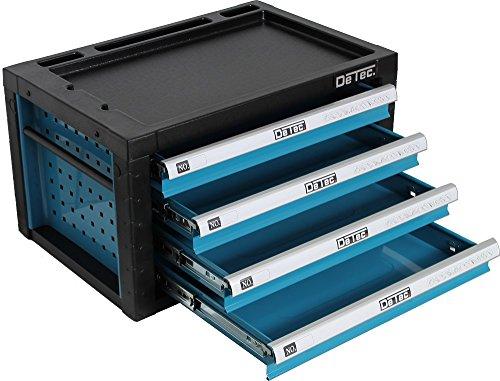 Preisvergleich Produktbild DeTec. Werkzeugkiste in blau - Viel Platz für Ihr Werkzeug