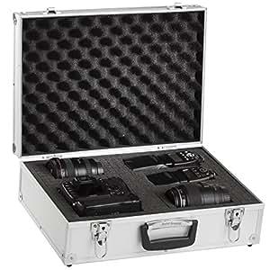 Brubaker - Valise Photo - Semi professionnelle - Entièrement Modulable en aluminium