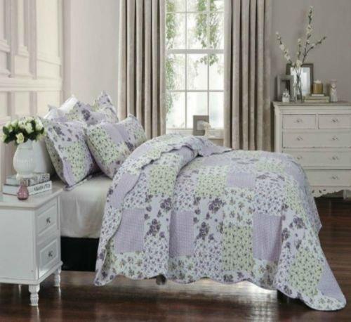 THL Tagesdecke, Patchwork 2Kissen Sham/Quilt Set-Größe 235x 250cm Doppelbett/King Size (King-size-polyester-kissen-sham)