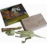 Squelette de Dinosaure Tyrannosaurus Rex Kit Outil de Fouille Jeu Archéologie Jouet