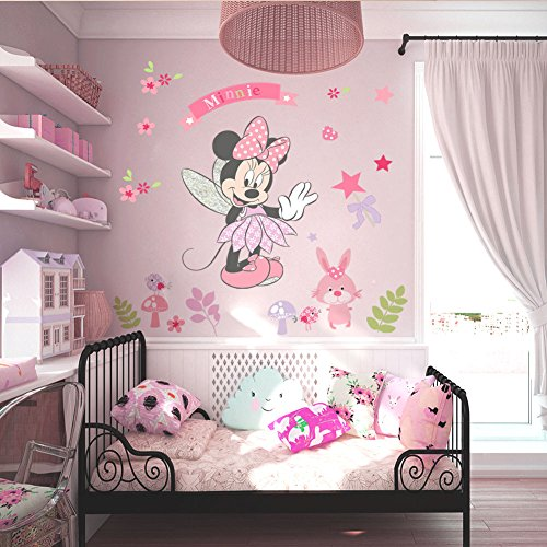 Minnie Mouse Maus Wandtattoo Wandaufkleber Tattoo 40 x 80 cm *NEU*OVP*