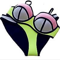 Combinaison de plongée pour femme Design sexy Bikini rembourré en néoprène Ensemble de maillot de bain