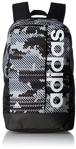 adidas Lin Per Bp Gr Mochila, Adulto, Gris (Grivis / Negro / Blanco), NS