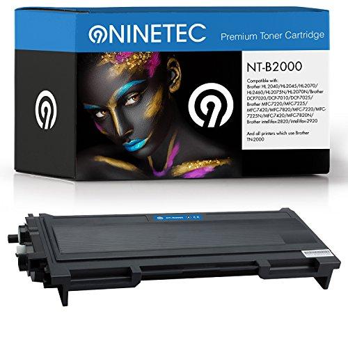 Original NINETEC NT-B2000 Toner-Kartusche Black kompatibel mit Brother TN-2000 -