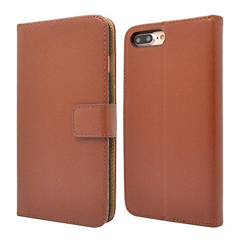 Finest Bazaar Laudtec Schutzhülle aus Leder - für iPhone 4 - Braun
