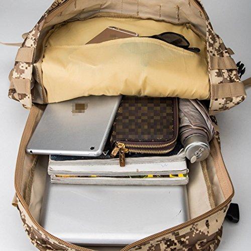 55L Wandern Rucksack Multifunktions leichtes wasserdicht kombinieren Rucksack Outdoor Sports Camping Bergsteigen Adventure Travel Nylon Rucksack PYTHON CRAIN