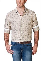 Allen Solly Beige Shirt