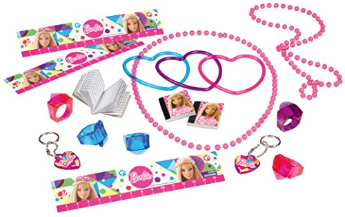 amscan 395968-55 Partygeschenke-Set Barbie Sparkle (Barbie Box Halloween)