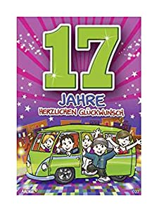 Depesche 5598.027Tarjeta de felicitación con diseño de Archie, 17. Cumpleaños