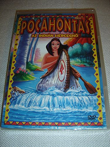 Pocahontas: Az Indian Hercegno / The Indian Princess // ENGLISH and HUNGARIAN Audio / Hungarian Subtitles [European DVD Region 2 PAL] -