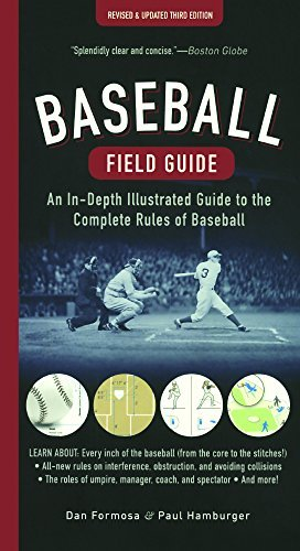 Baseball Field Guide: An In-Depth Illustrated Guide To The Complete Rules Of Baseball (Turtleback School & Library Binding Edition) by Dan Formosa (2016-03-22) par Dan Formosa;Paul Hamburger