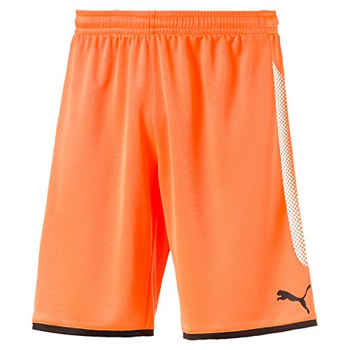Puma Kinder Torwart Short GK Shorts 703068 Fluo Orange Black 116 (Shorts Gk)