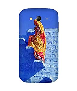 Blue Walls Back Cover Case for Samsung Galaxy Grand 3
