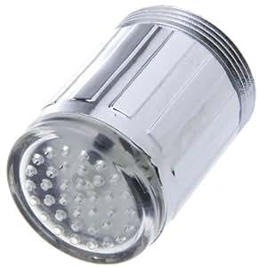 Tomorrowtop LED Light Water Wasserhahn 7 Farben leuchten, Keine Batterien erforderlich