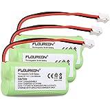 Floureon 6 Packs Cordless Telephone Battery for AT&T/Lucent 3101, 3111,BT-8001, BT-8300, SL82118, SL82208, SL82218, SL82308, SL82318, SL82408, SL82418, SL82518, SL82558, SL82658, Motorola T31, T3101, Philips SJB-2121, Uniden BT1011