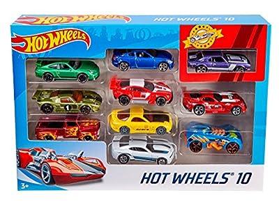 Hot Wheels Auto 10Pack (Stile können variieren) von Mattel