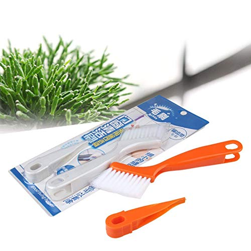 Cleaning Brushes - Foldable Window Groove Cleaning Brush Nook Cranny Household Keyboard Home Multifunctional - Hard Attached Natural Grinder Angle Bamboo Steel Attachment Make Long Drill Dish (Bamboo Wireless Touchpad)