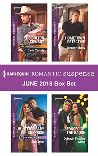 Harlequin Romantic Suspense June 2018 Box Set: The Colton Cowboy\The Bounty Hunter's Baby Surprise\Hometown Detective\Seduced by the Badge (English Edition) - Bounty Hunter Badge
