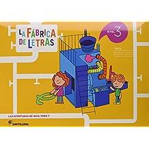 LA FABRICA DE LAS LETRAS NIVEL 3 - 9788468033891