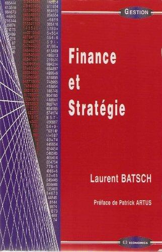 Finance et Stratégie