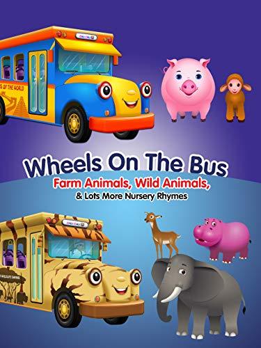 Wheels On The Bus Farm Animals, Wild Animals, London, New York and Lots More Nursery Rhymes | ChuChuTV