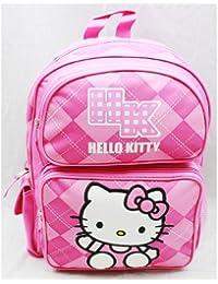 "Hello Kitty Medium 14"" Backpack - Pink Checker"