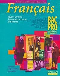 Français : Analyse littéraire, compétences de lecture et d'écriture, Bac pro