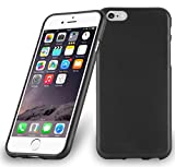 Cadorabo Coque pour Apple iPhone 6 Plus/iPhone 6S Plus en Noir DE Jais – Housse Protection Souple en Silicone TPU avec Anti–Choc et Anti–Rayures – Ultra Slim Fin Gel Case Cover Bumper