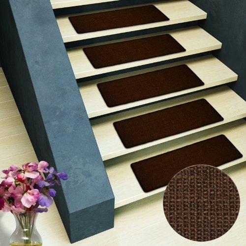 Sisal - Stufenmatte MA dunkelbraun Stufenmatte ohne Überhang, natürliche schöne Sisalstruktur,rutschsicher durch beschichtetes Natur-Latex, wohnlichen Farben, variabel verwendbar, tierfreundlich.