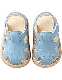 5442946b5 Miyanuby Sandalias Bebe Niño Verano Suela Suave Antideslizante Primeros Zapatos  para Niños 0-30 Meses