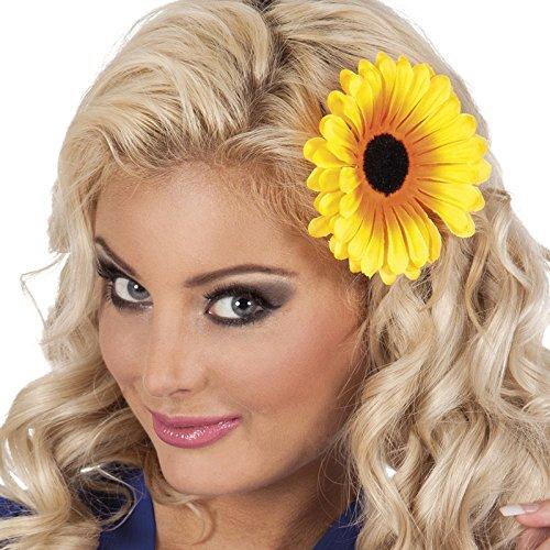 NEU Sonnenblume, mit Haar-Clip