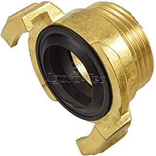 Agora-Tec Brass Quick-Action Coupling with 1