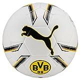 Puma BVB Hybrid Fußball, White-Cyber Yellow, 5