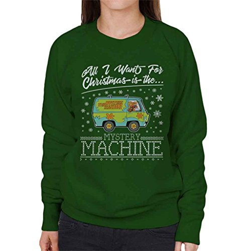 t for Christmas Is The Mystery Machine Women's Sweatshirt (Velma Pullover)