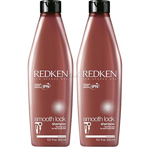 REDKEN Smooth Lock Shampoo Aktion 2x 300ml = 600ml (Shampoo Redken Smooth Lock)