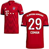adidas FCB Heimtrikot 2018 2019 Herren Coman 29 Gr M