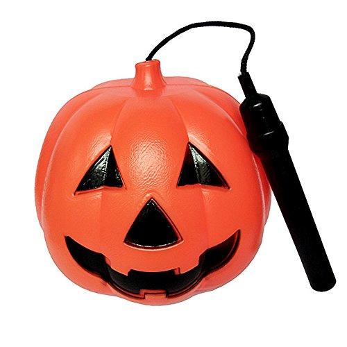 Zantec Modisches reizendes Halloween bewegliches LED leuchtendes Kürbis Laterne Kind Spielzeug Verzierungs (Clown Beängstigend Film)