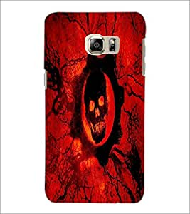 PrintDhaba Skull D-4357 Back Case Cover for SAMSUNG GALAXY NOTE 5 EDGE (Multi-Coloured)