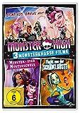 Monster High™ - 3 monsterkrasse Filme (Licht aus, Grusel an & Monster- oder Musterschule & Flucht von der Schädelküste) [3 DVDs]