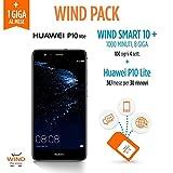 Huawei P10 Lite Smartphone, 32GB, Black (Anticipo) + SIM Wind Ricaricabile con offerta All Inclusive Online Edition 10