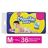 Mamy Poko Standard Pant Style M Diapers (36 Pieces)
