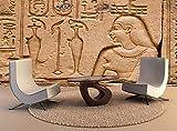 Wallpaper Wandbild Ägypten Edfu Horus Wall Art Dekor Fototapete Poster Hochwertiger Druck