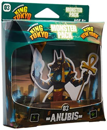 IELLO KOT_MP_Anu King of Tokyo Anubis Monster Pack Juego de Mesa, Multicolor