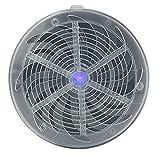 OKCS Indoor Solar Mückenfalle - Insektenvernichtung Elektrische Insektenfalle Mückenabwehr Moskitoschutz