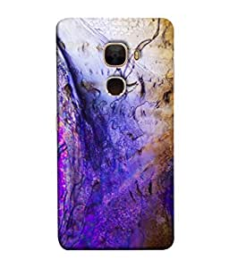 PrintVisa Designer Back Case Cover for LeTv Le Max :: LeEco Le Max (Sketched Art In Blue )