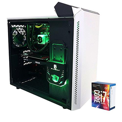 PC Gaming Desktop Prozessor Intel i77700K 4.50GHz • Kühlkörper A Flüssigkeit • gtx1050ti 4GB Asus • 16GB DDR4Corsair • Windows 10Pro • 1TB HDD 7200rpm • SSD 240GB 500MB/s • PC Full HD Fertig Montiert Gaming Desktop-PC USB 3.0HDMI Intel Desktop (I7-systeme Core)